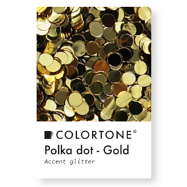 Colortone Polka Dot Gold