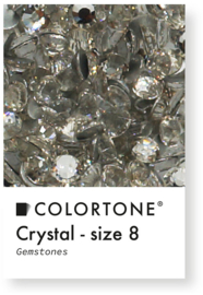 Colortone Crystal Rhinestones Size 8