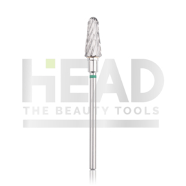 Head Tungsten Bit Rounded Cone Green 6.0mm