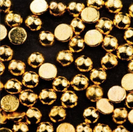 Mistero Milano Gold Half Beads 1,5 mm