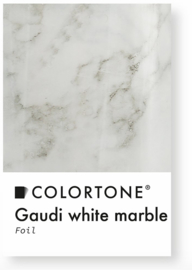 Colortone Gaudi White Marble Foil