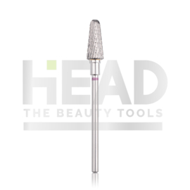 Head Tungsten Bit Rounded Cone Violet 6.0mm