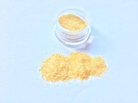 Nail Art Glitter Pastel Yellow