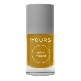 YOURS Stamping Polish Yellow Mustard