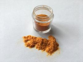 Nail Art Fluffy Powder Amber Yellow