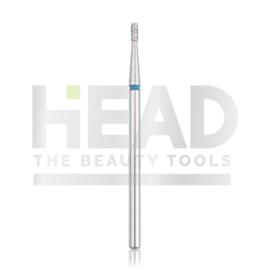 Head Diamond Frees Bit Cylinder Short Blue 1.4mm (Manicure Pedicure)