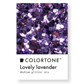 Colortone Medium Glitter Mix Lovely Lavander