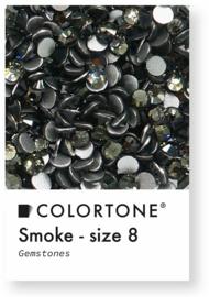 Colortone Smoke Crystal Rhinestones Size 8