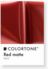 Colortone Red Matte Foil