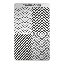 YOURS Loves Sascha Gossen Edgy Zebra (YLS29)