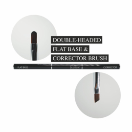 The Blooom Double Headed FLAT BASE & CORRECTOR Brush