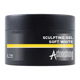 Astonishing Nails Sculpting Gel Soft White 14ml