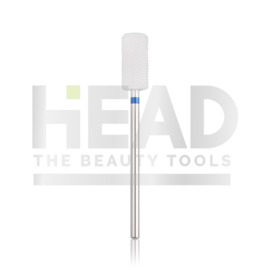 Head Ceramic Frees Bit Cylinder Safe Edge Blue 6.5mm