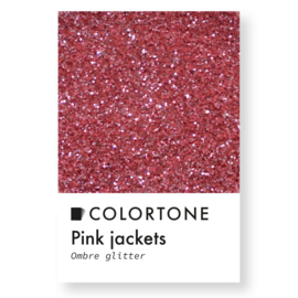 Colortone Ombre Glitters Pink Jackets