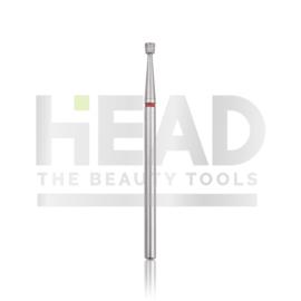 Head Diamond Frees Bit Reverse Cone Red 2.1mm (Manicure Pedicure)