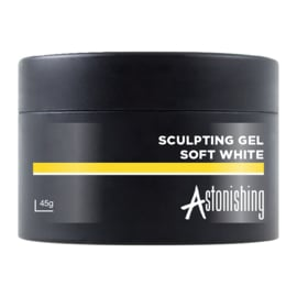 Astonishing Nails Sculpting Gel Soft White 45ml