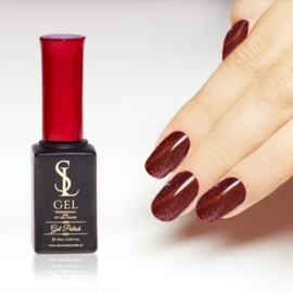 Slowianka Cat Eye Gel Polish 018 Red Gold