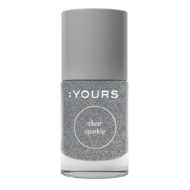 YOURS Stamping Polish Silver Sparkle