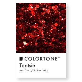 Colortone Medium Glitter Mix Tootsie