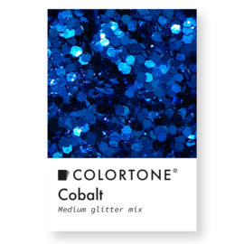 Colortone Medium Glitter Mix Cobalt