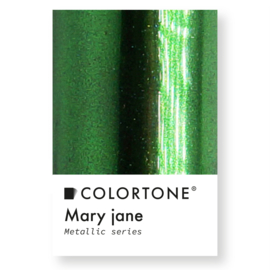 Colortone Mary Jane Metallic Groen Pigment