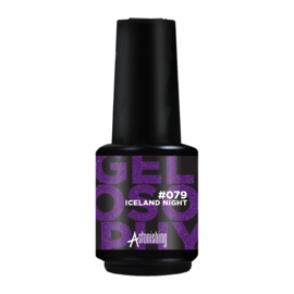 Astonishing Nails Gel Polish Iceland Night #079