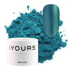 Yours Element Green Peacock