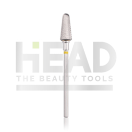 Head Tungsten Bit Rounded Cone Yellow 6.0mm