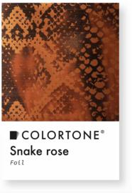 Colortone Snake Rose Foil