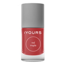 YOURS Stamping Polish Red Maple