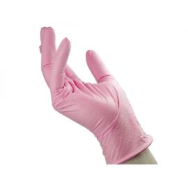 Merbach Nitril Handschoenen Roze Maat M 1000 Stuks