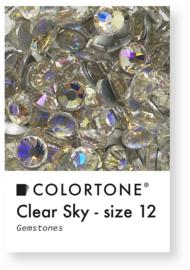 Colortone Clear Sky Rhinestones Size 12