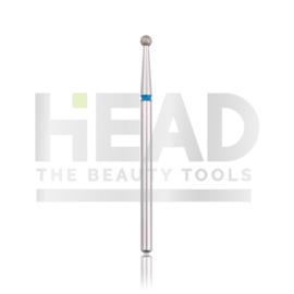 Head Diamond Frees Bit Ball Blue 2.3mm (Manicure Pedicure)