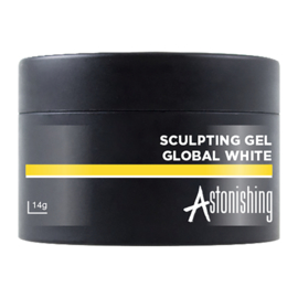 Astonishing Nails Sculpting Gel Global White 14ml