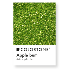 Colortone Ombre Glitters Apple Bum
