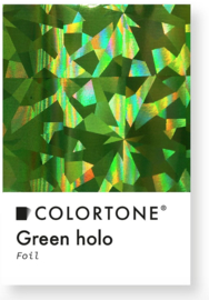 Colortone Green Holo Foil