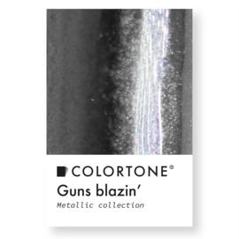 Colortone Guns Blazin' Metallic Antraciet Pigment