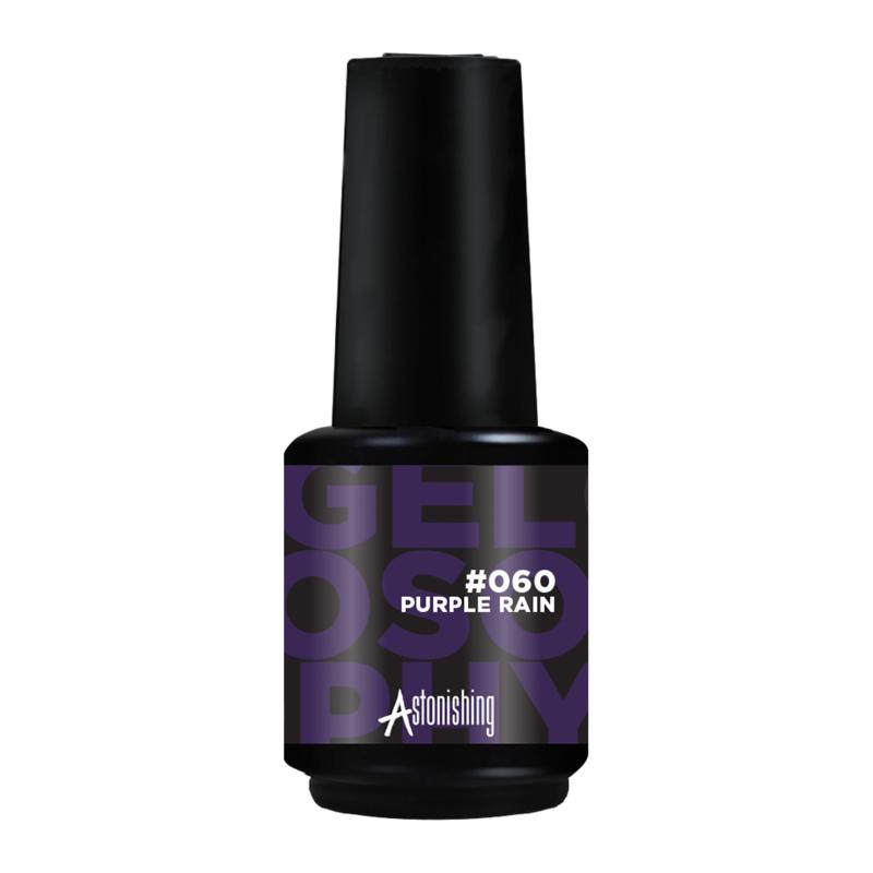 Astonishing Nails Gel Polish Purple Rain #060