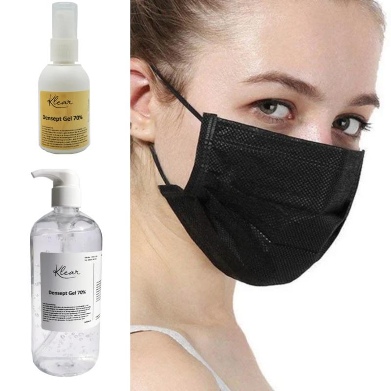 Mondmasker Desinfectie Kit