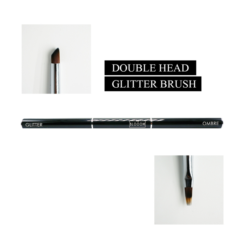 The Blooom Double Headed GLITTER & OMBRE Brush