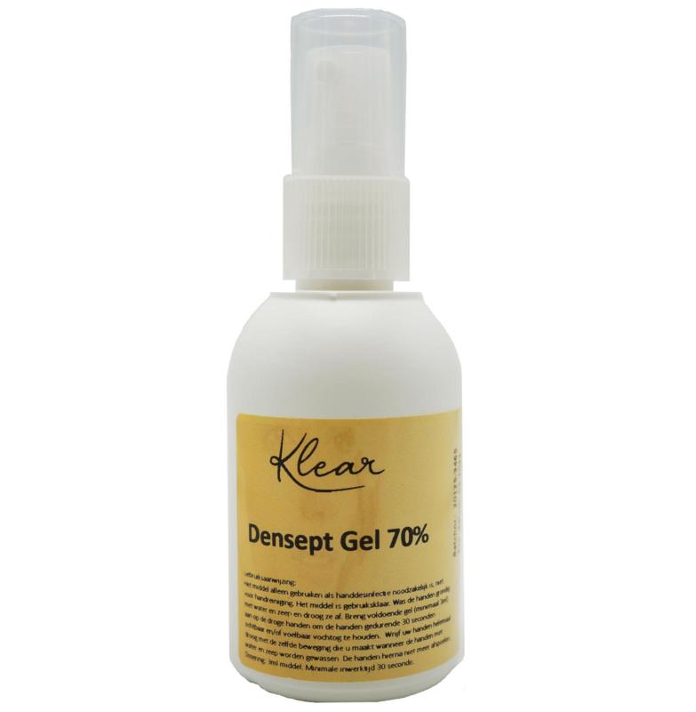 Klear Handdesinfectie Densept Gel Spray 70% 25 Stuks