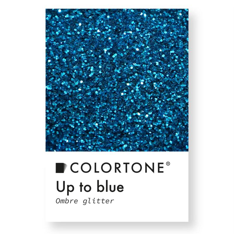Colortone Ombre Glitters Up To Blue