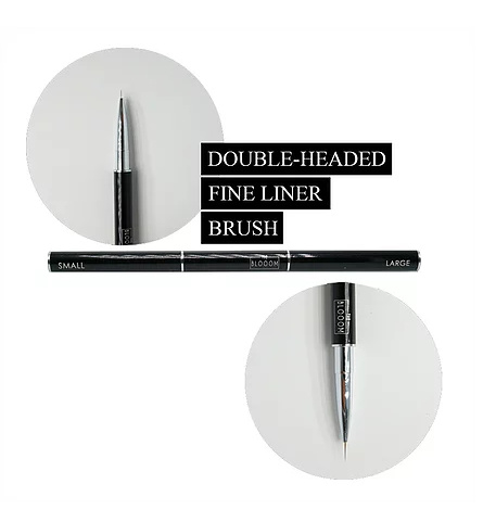 The Blooom Double Headed FINE LINER Brush