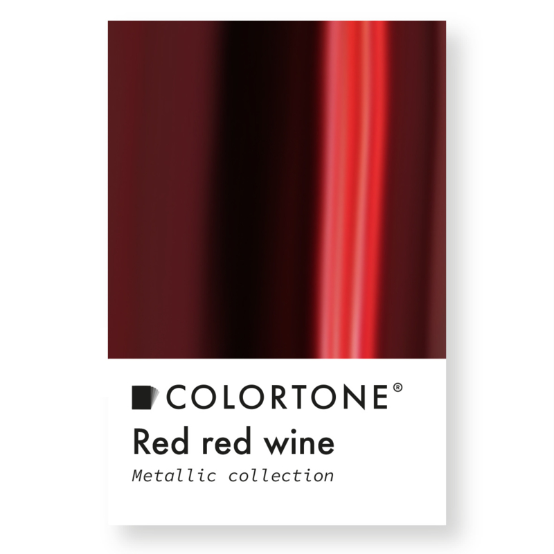 Colortone Red Red Wine Metallic Rood Pigment