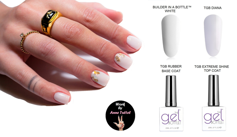 The GelBottle BIAB™ White Kit by Anne Tuttel