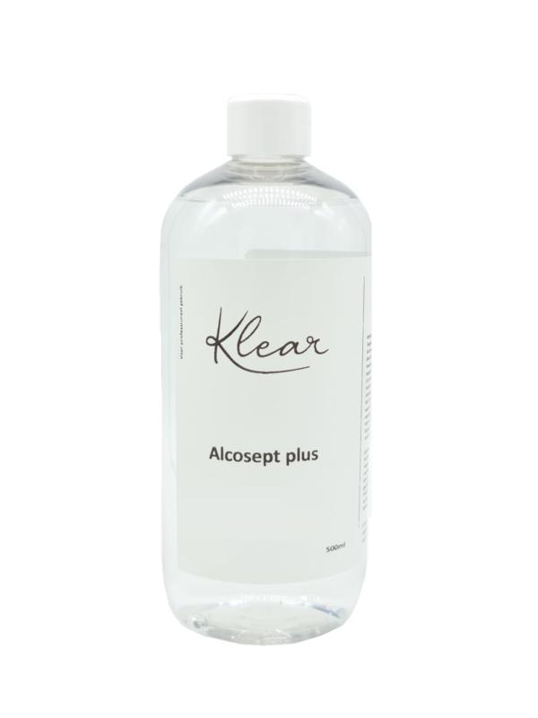 Klear Alcosept Plus 80% Alcohol 500 ml