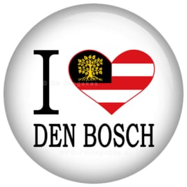 I love Den Bosch button 45 mm