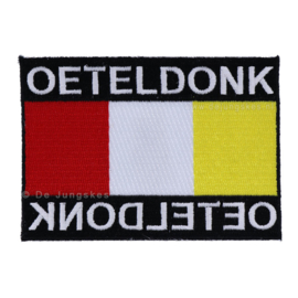 spiegel embleem Oeteldonk (9x6,5 cm)