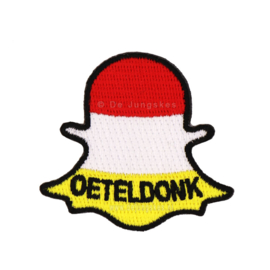 Snapchat Oeteldonk (5x5 cm)