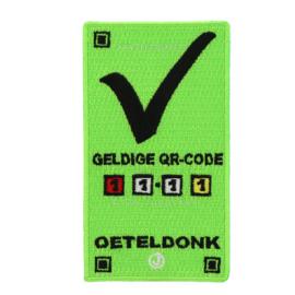 QR code Oeteldonk (9x 5 cm)